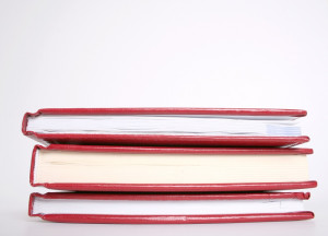 3 red books
